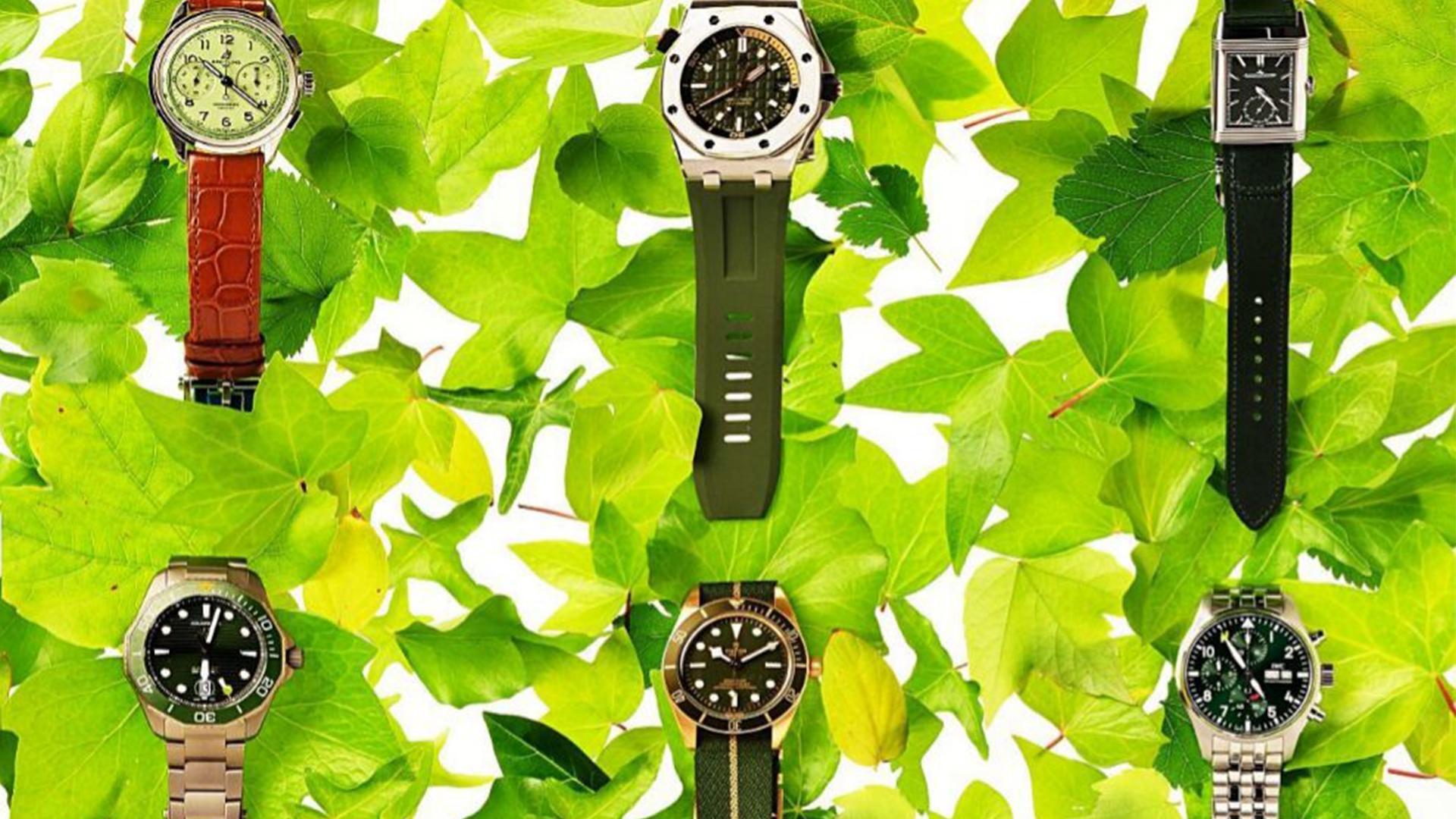 La Alta Relojería se viste de verde
