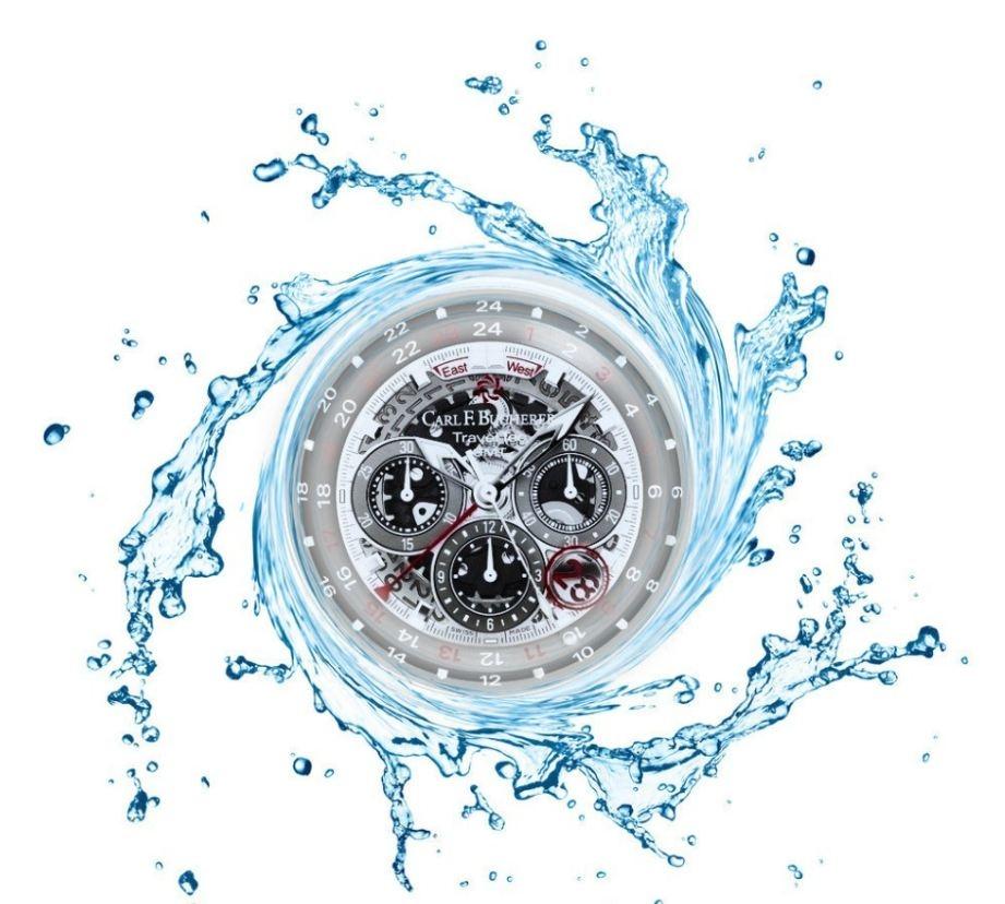 Los relojes acuáticos en verano