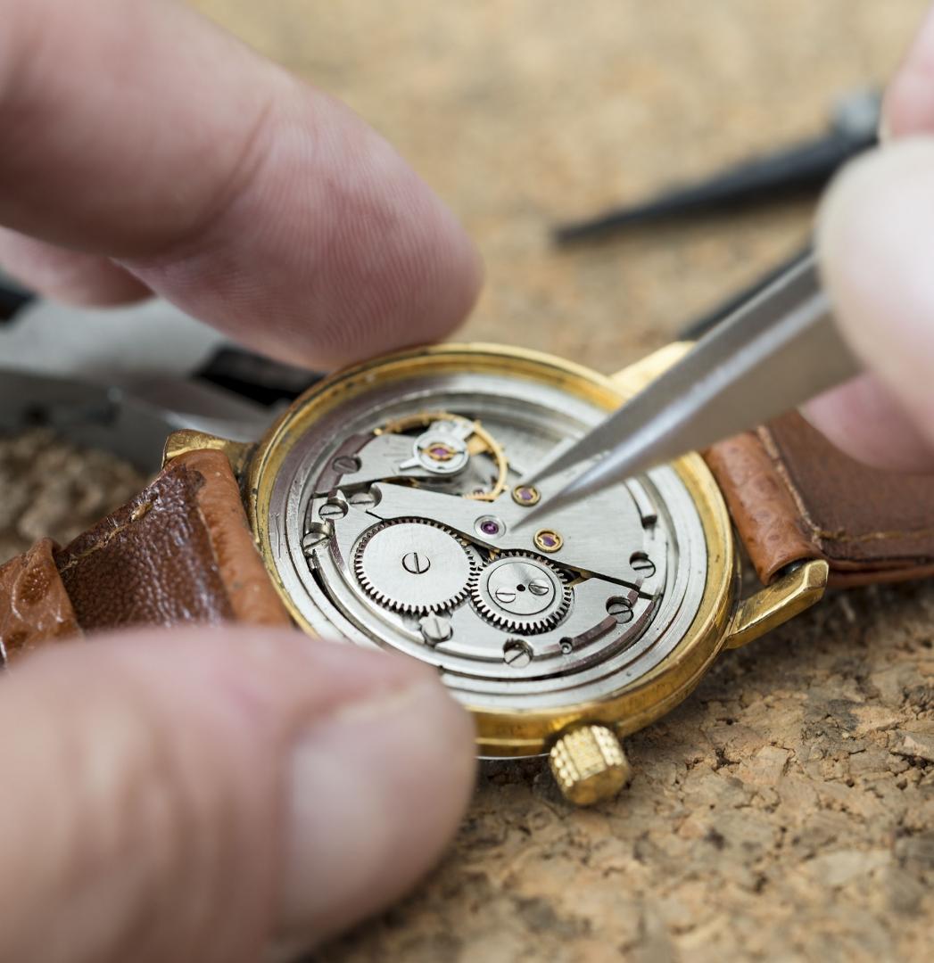 Partes importantes de un reloj
